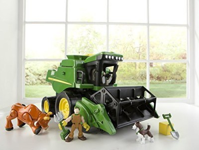 John Deere Gear Force Harvest Combine