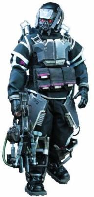 threeA Three A Killzone Hazmat Trooper (16 Scale)