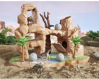 Animal Planet Micro Kingdom Dino Quake Playset