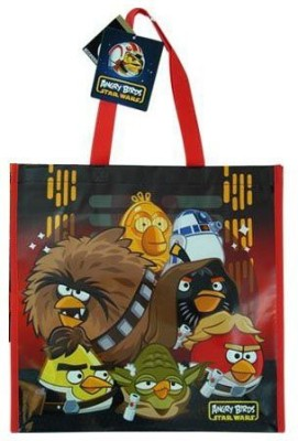 Animations Angry Birds Non Woven Tote Bag (Star Wars)(Multicolor)