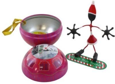 Hog Wild Bender Ornament Posable Magnetic Figurine Mrs Claus
