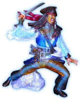 Zizzle Jack Sparrow With Electroluminisence Skeleton
