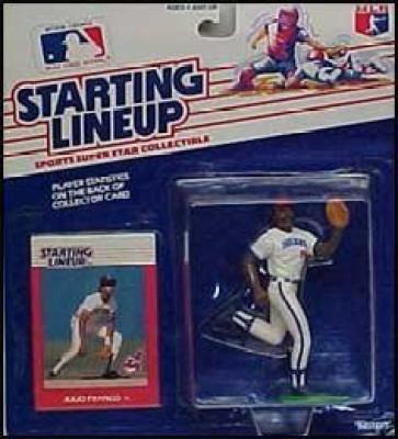 Starting Line Up Julio Franco In Cleveland Indians Uniform 1988 Starting