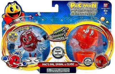 Pac-Man Pacpanic Spinnersspiral And Clyde