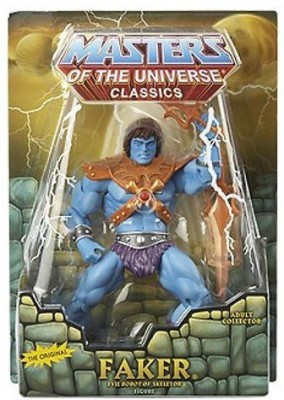 Masters of the Universe Heman Classics Exclusive Faker