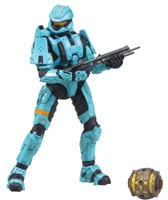McFarlane Toys HALO 2009 Wave 2 - Series 5 Equipment Edition Spartan Soldier Scout Figure