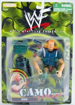 WWF 1999 Hhh Camo Carnage Jakks Mint