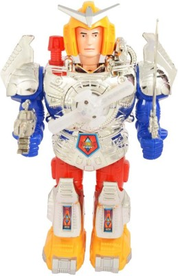 Scrazy Face Changing Combat Hero Robot