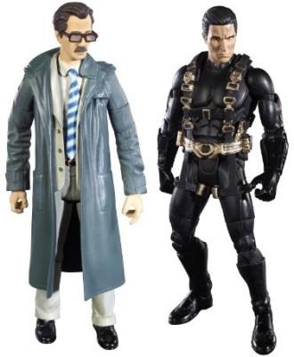 Mattel Batman Legacy Batman Begins Prototype Suit Batman And Lt. Jim Gordon Collector Figure 2-Pack