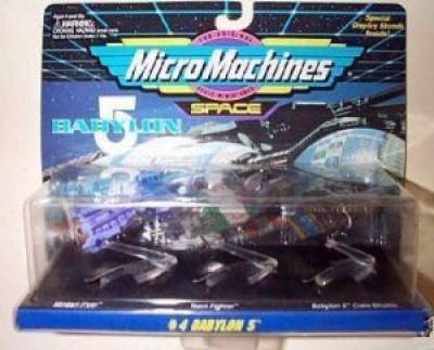 Galoob MicroMachines Balon 5 Micro Machines Ship Set 4