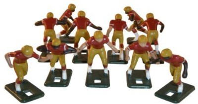 Tudor Games Electric Football 67 Big Men 11 In Gold Maroon White Home
