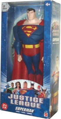 Justice League Dc Superheroes Year 2003 10 Inch Tall Superman