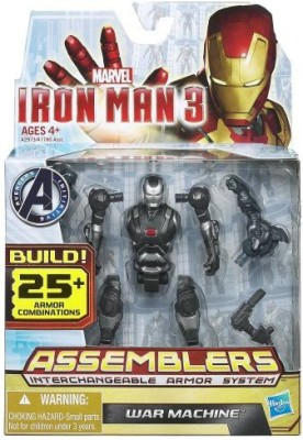 Hasbro Marvel Iron Man 3 Avengers Initiative Assemblers War Machine
