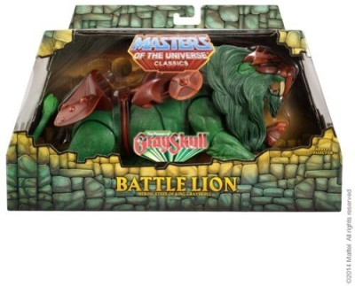 Masters of the Universe Classics Battle Lion Matty Exclusive