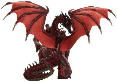 Papo 2Headed Dragon Red