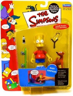 Playmates The Simpsons World Of Springfield Interactive Bart Simpson