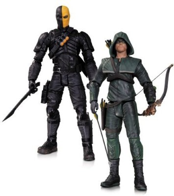 DC COMICS Collectibles Arrow Oliver Queen And Deathstroke 2Pack