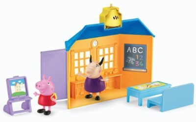 Fisher-Price Peppa Pig:Favorite Places School House Playset