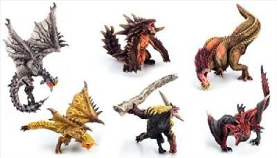 Capcom Builder Monster Hunter Standard Model Plus Anger Ver Box
