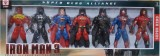 AS Avengers Action Figures of 7 Super He...