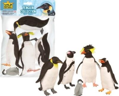 Wild Republic Polybag Penguin Collection 5 Pieces
