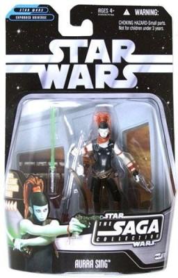 Star Wars Saga Collection Aurra Sing Action Figure