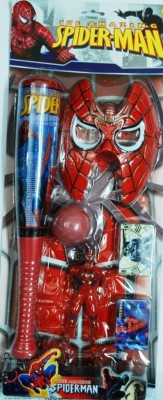 Shop & Shoppee Spiderman Play Set With Mask And Figure
