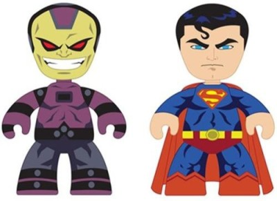 Mezco Z Dc Universe Mini Mezitz Superman/Mongul (Pack Of 2)