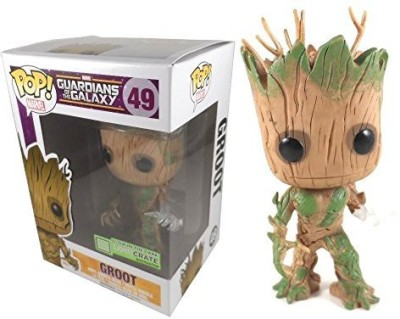 Pop Vinyl Funko Marvel Guardians Of The Galaxy Groot Glow