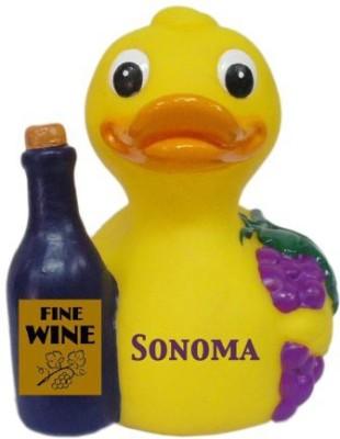 CelebriDucks Sonoma Red Wine Rubber Duck Bath