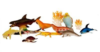 Montez Ocean Animal Set- pack of 12