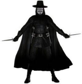 """NECA for Vendetta 7"""" Deluxe Action Figure by NECA(Multicolor)"""