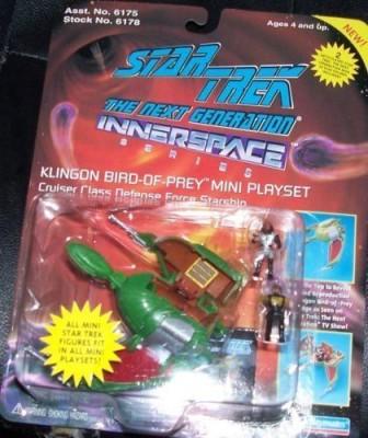 Star Trek Next Generation Micro Machine Mini Playset Klingon Bird
