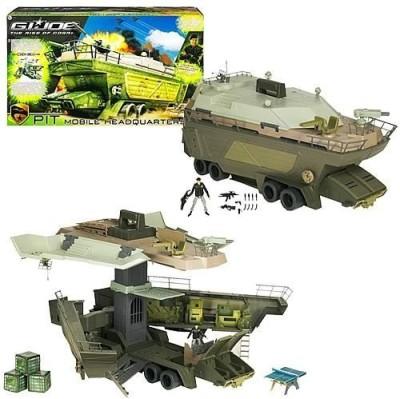 G I Joe Movie Pit Mobile Hq With Hawk V1 Black Jacket