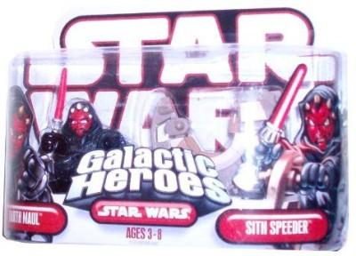 Hasbro Star Wars Galactic Heros Darth Maul & Sith Speeder