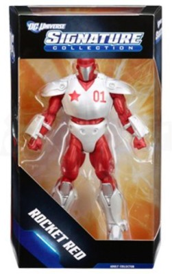DC COMICS Universe Club Infinite Earths Exclusive Deluxe Rocket Red