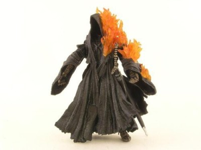 The Lord Of The Rings Flaming Ringwraith With Light Up Flames