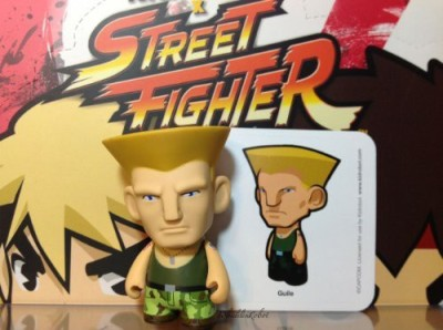 Kidrobot Street Fighter Guile Collectible Mini Green