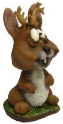 Swibco Mini Bobble Head Jackalope
