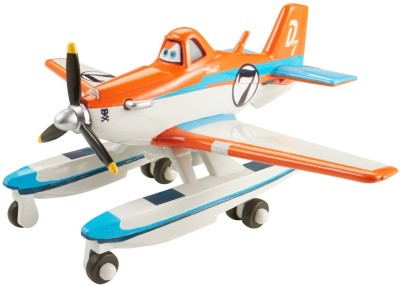 Mattel Mattel Disney Planes Fire and Rescue Racing Dusty with Pontoons Die-cast Vehicle