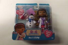 Disney Doc McStuffins Doc & Chilly(Multicolor)