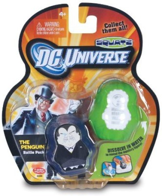 Squatz Dc Universe Penguin And Mystery Character