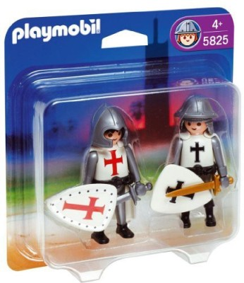 PLAYMOBIL French Knight And Crusader Duo Pack
