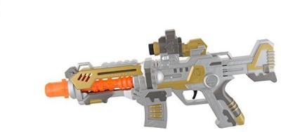 Rey Hawk Super Projection Machine Gun (Multicolor)