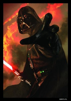 Fantasy Flight Games Star Wars Art Sleeves Power Of The Dark Side (Pack Of 50