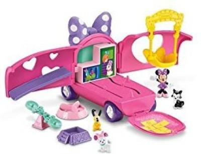 Fisher-Price Disney Minnie Mouse Bowtique Minnie,S Pet Tour Van