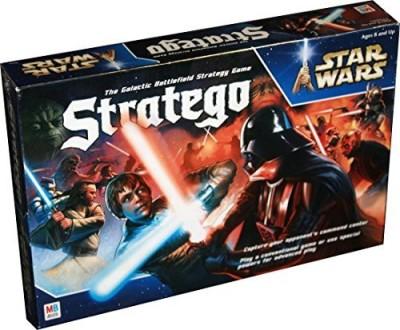 Milton Bradley Stratego Star Wars Glactic Battlefield Strategy