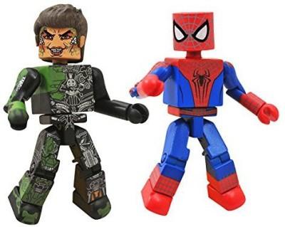 Diamond Select Marvel Minimates Series 56 Mini Spiderman With Norman