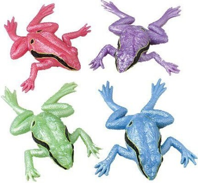 US Toy Jumbo Stretchy Frogs