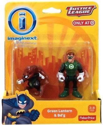 Imaginext Dc Justice League Green Lantern & Bdg